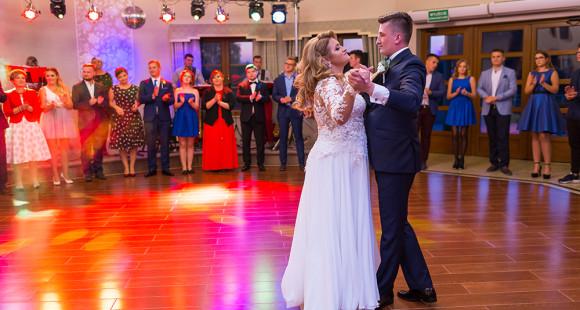 Julita i Adam pierwszy taniec